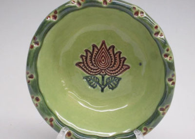 All About Clay Finished Textured Plate