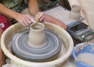 All About Clay Throwing On The Wheel