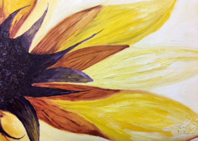 Painting and Drawing Student Piece Flower Petals