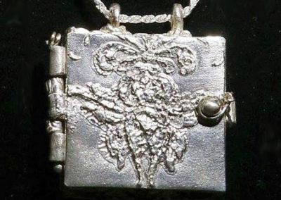 Silver Clay Locket