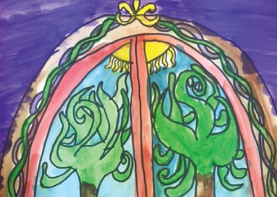 Kids-Paint-and-Draw-Stained-Glass