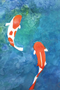 Painting-Fishes