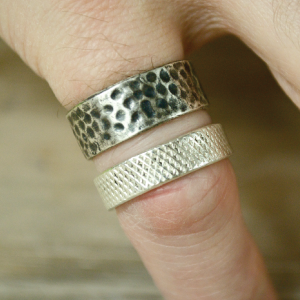 Silver-Clay-Rings